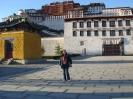 Лхаса, Тибет, у дворца Потала